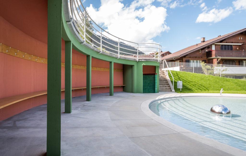 Spezialpreis der Kantonalen Denkmalpflege Bern – 'Das Strandbad von Adelboden'