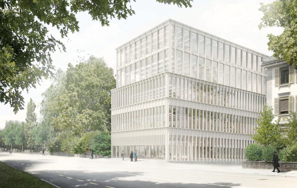 St. Gallen, Neubau Laborgebäude ZLM