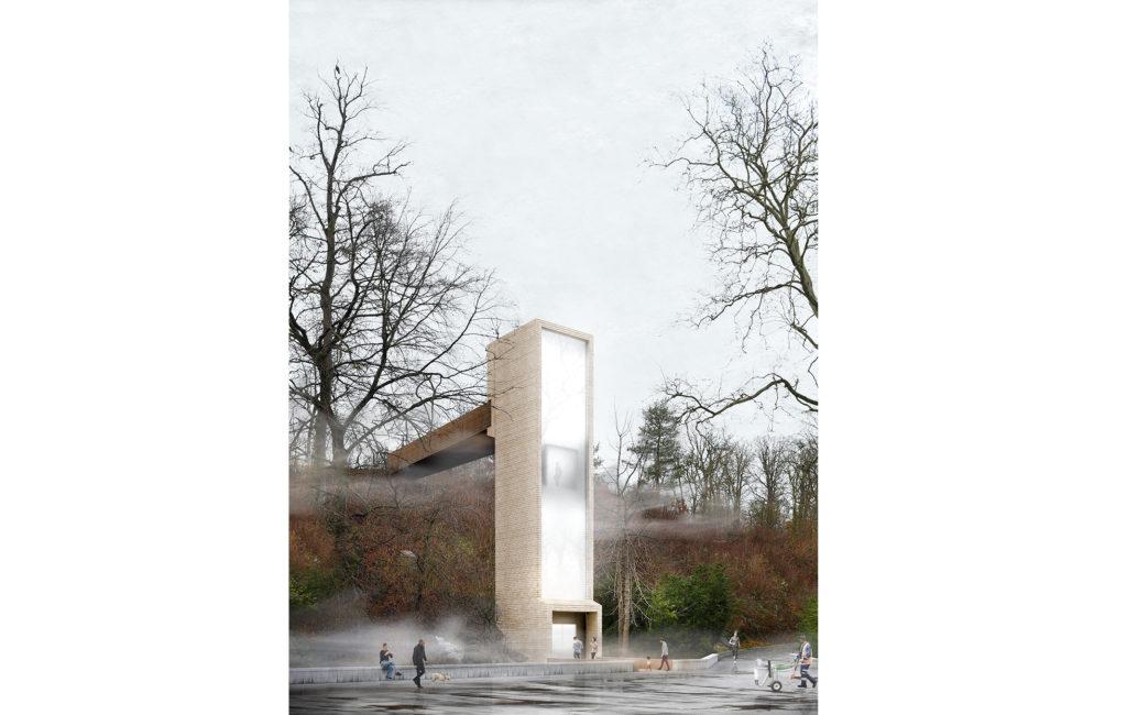 Bern, Tierpark Neubau Liftanlage Dählhölzli