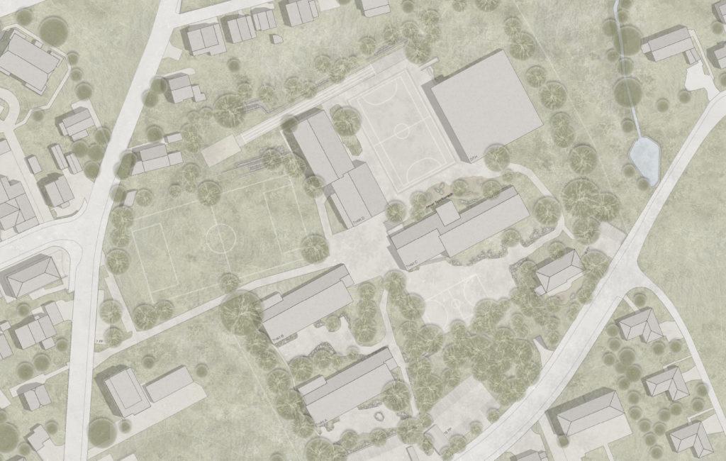 Grenchen, Schulraumerweiterung und Neubau Doppelturnhalle