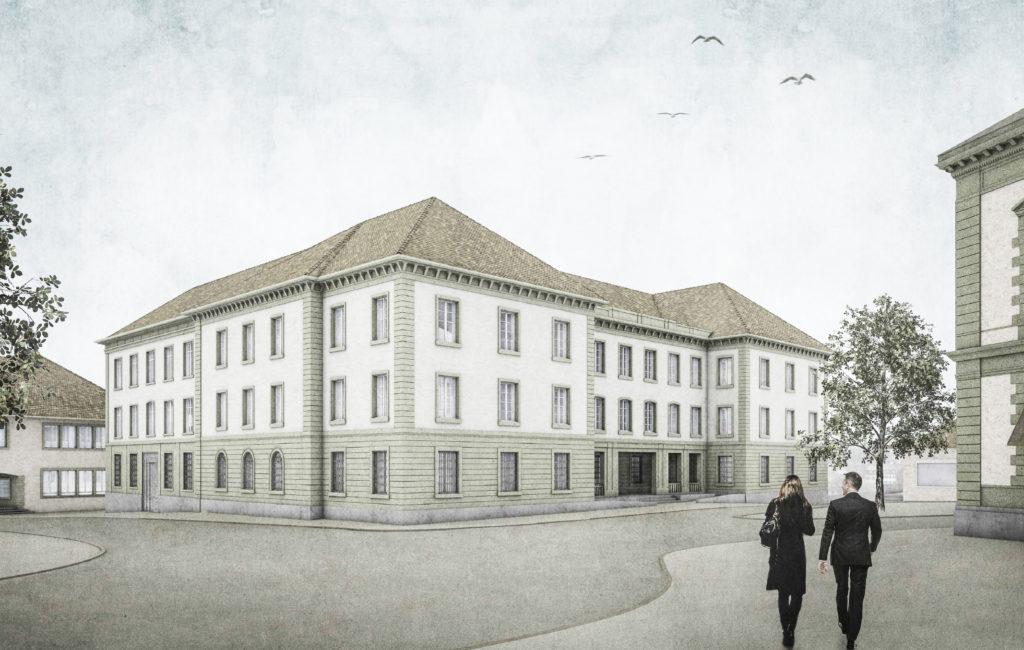 Liestal, Umbau und Erweiterung Kantonsgericht Basel-Landschaft