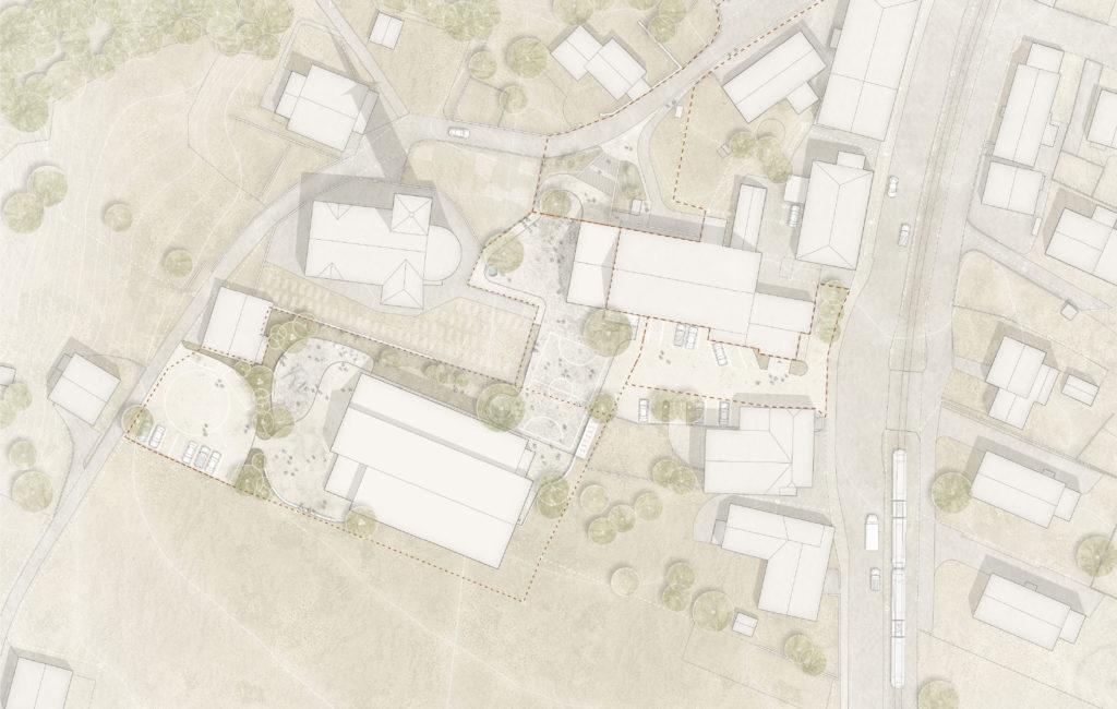 Neirivue, Construction d'une nouvelle Ecole