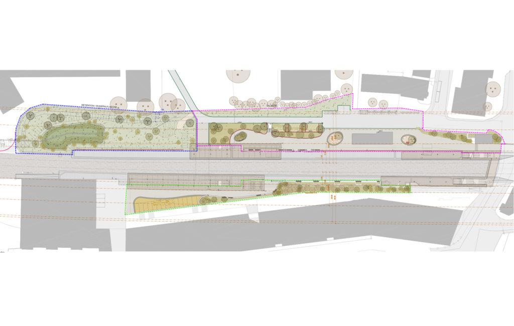 Wabern, Bahnhof BLS – Gesamtkonzept Umgebung und Umsetzung Bepflanzung